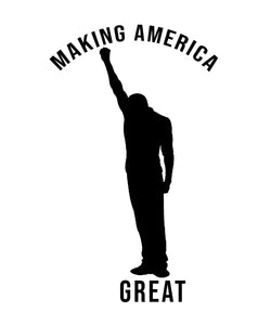 Making America Great - Since 1619-Black Man