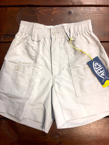 Boys' Fishing Short Silver