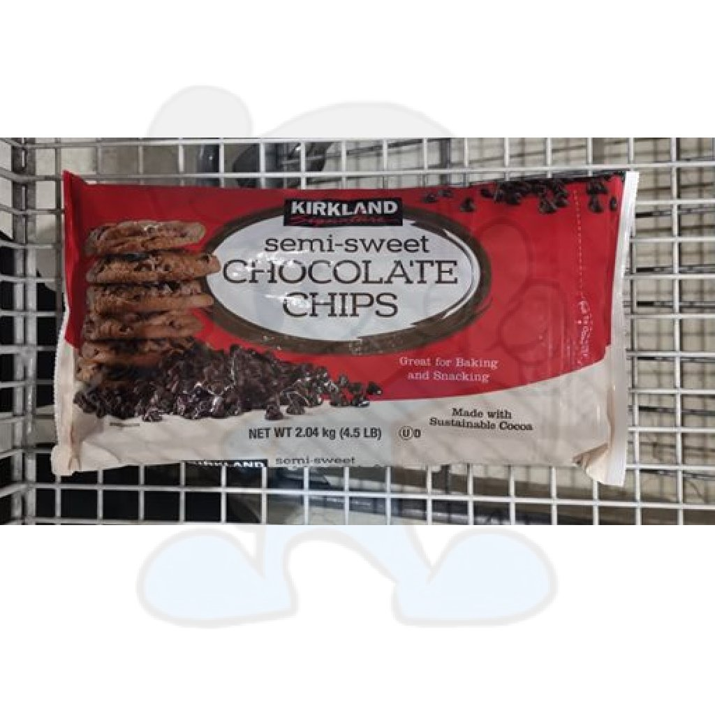 Kirkland Signature Semi-Sweet Chocolate Chips (4.5 lb.)