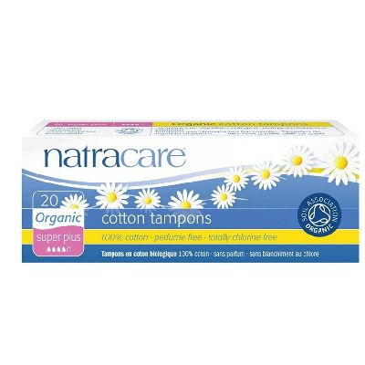 Tampons Super Plus Ss Applicateur Natracare