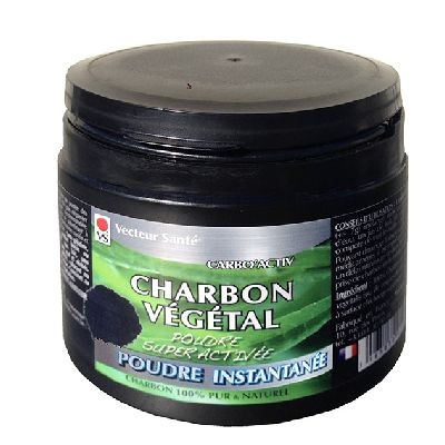 Charbon Vegetal** Soluble 150g Vecteur Sant