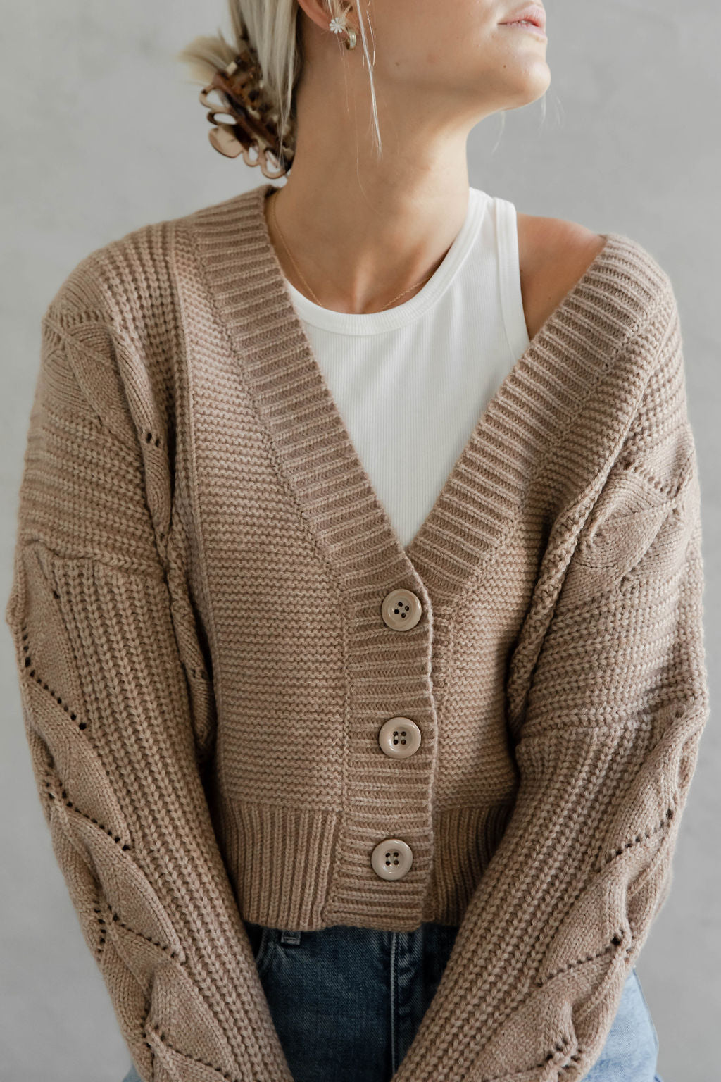 The Pointelle Sweater