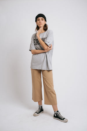 The Canvas Pants in Dark Tan