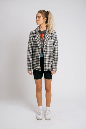 Checked Out Blazer