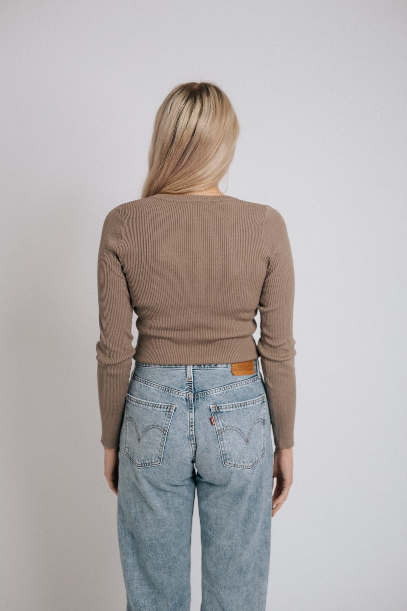The Diversion Top in Taupe