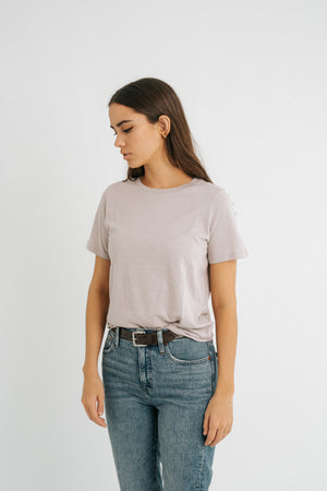 The Plain Mauve T
