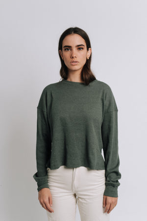 The Yes I'm Single Thermal Olive