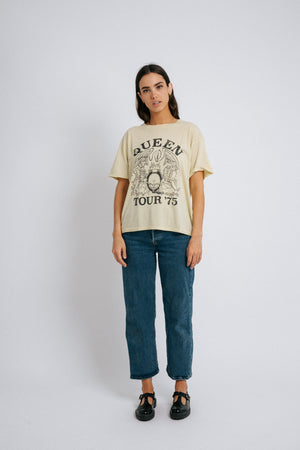 Yellow Queen Tee