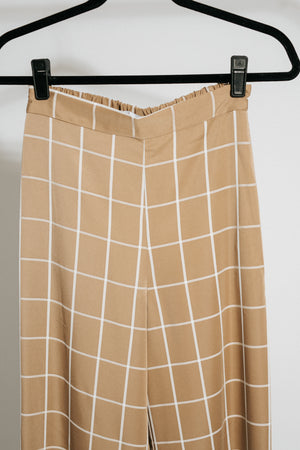 The Sand Windowpane Pants