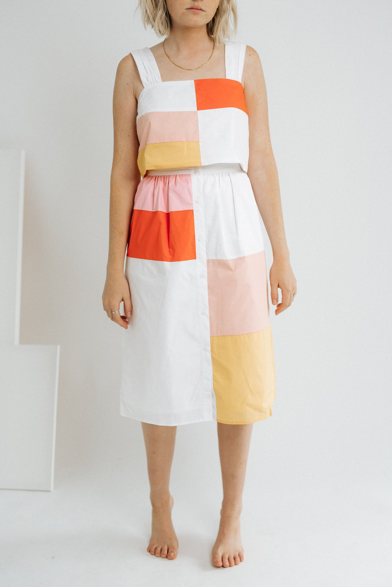 The Colorblock Skirt