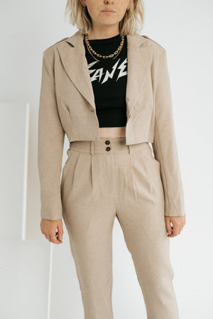 All Day Cropped Jacket