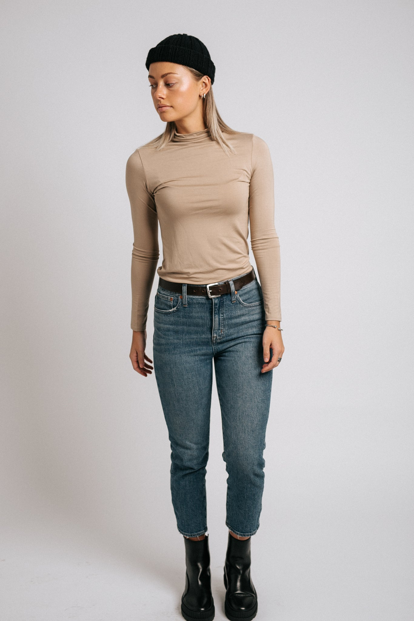 The Blake Mock Neck