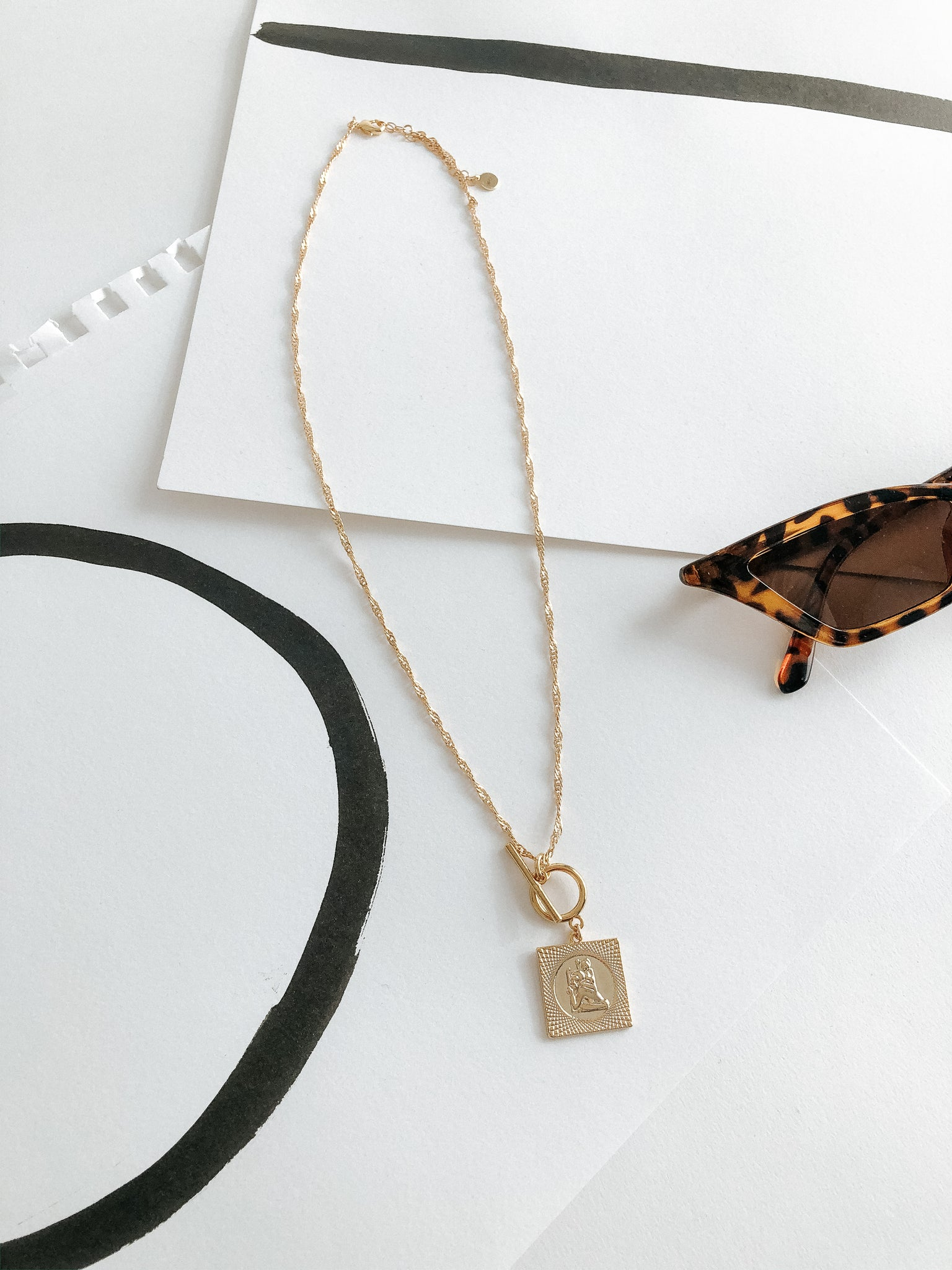 The Nile Lock Necklace