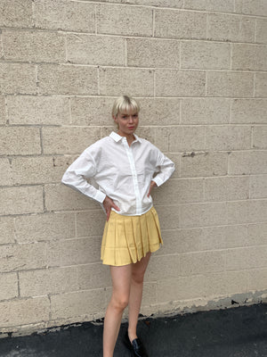 The Lemon Tennis Skirt