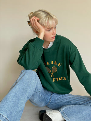 The Malibu Club Pullover in Green
