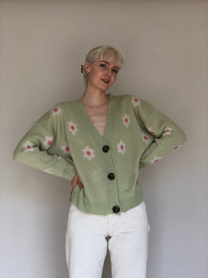 The Spring Green Sweater