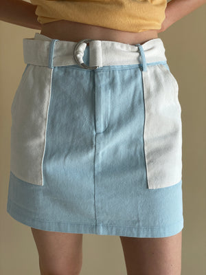 The Cumulus Clouds Mini Skirt