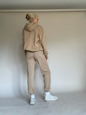 The Apartment Hoodie in Tan