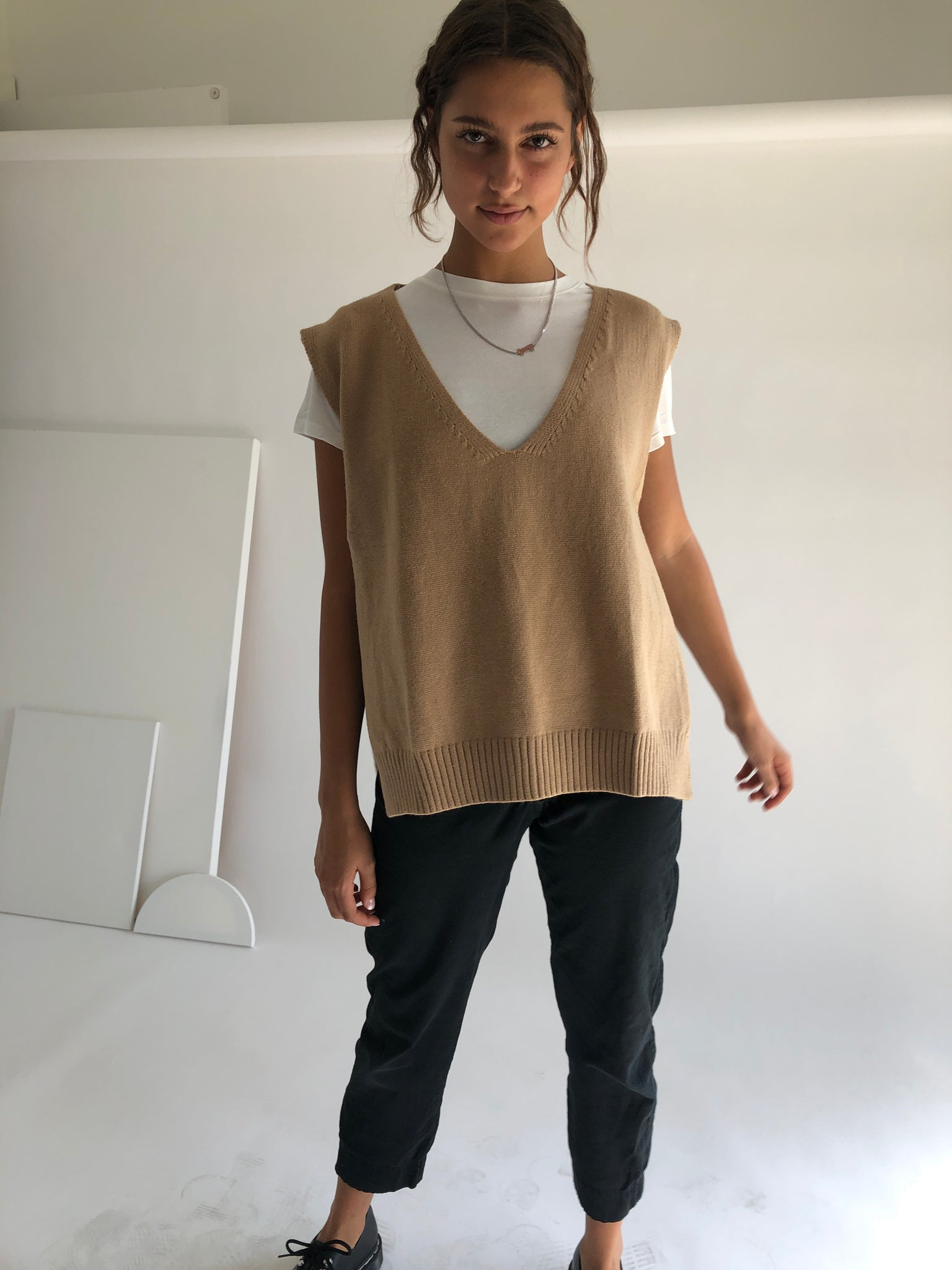 The Mona Sweater Vest
