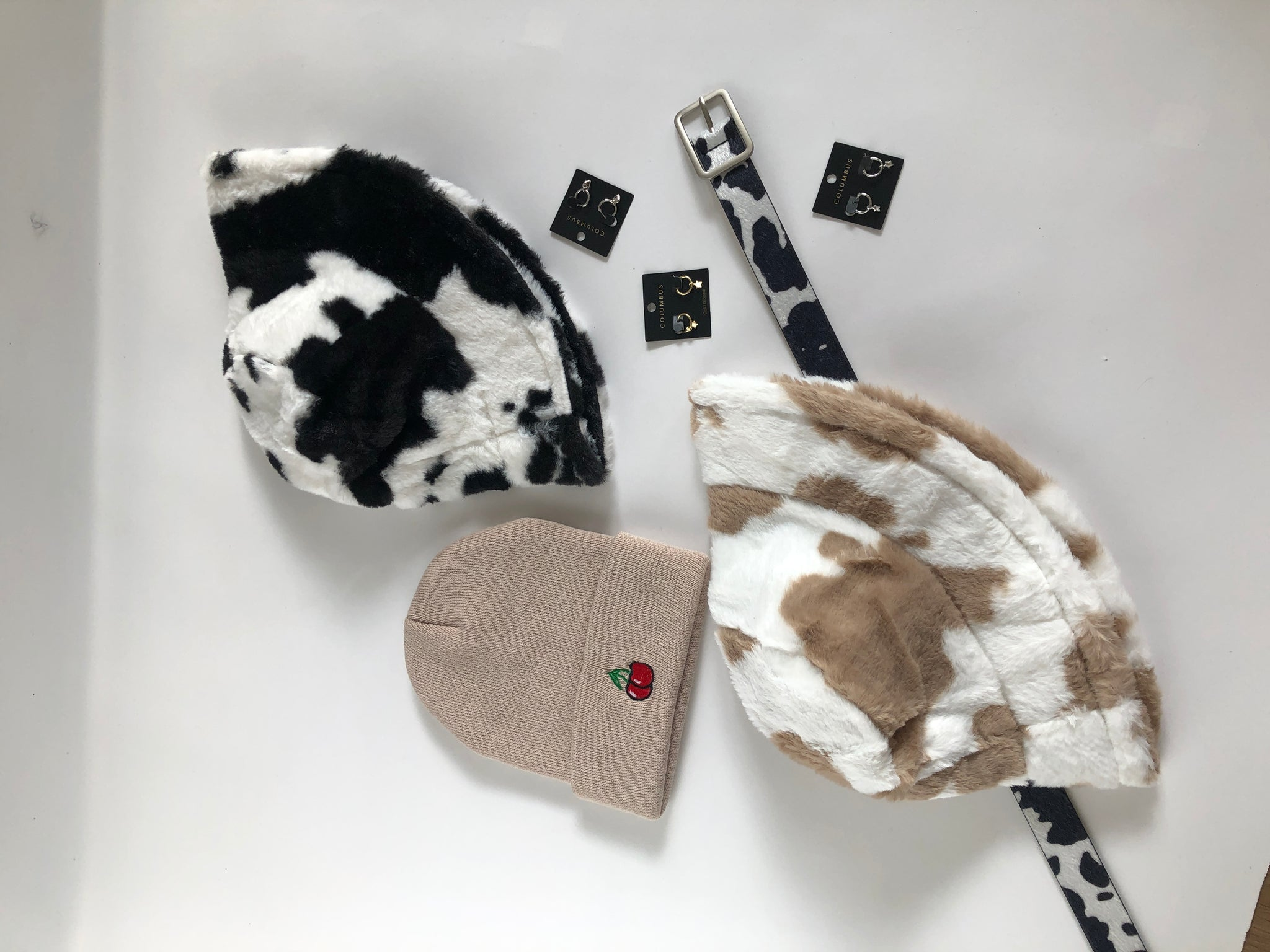 The Cow Print Bucket Hat
