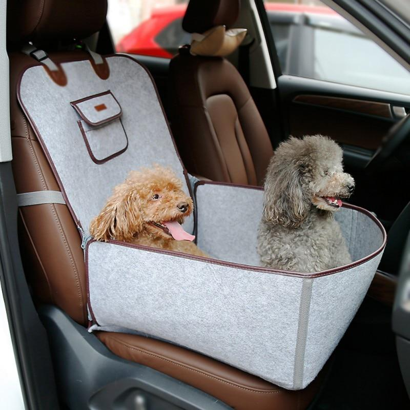 Car Seat and Cover for Pets
