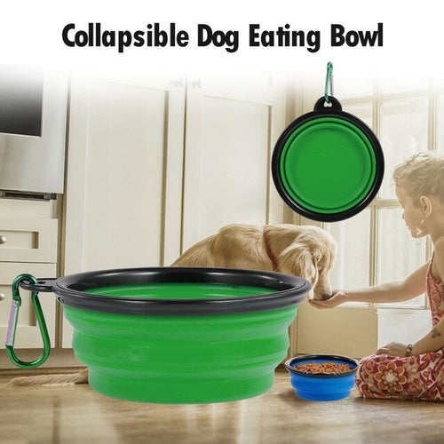 Portable Travel Pet Dog Bowl Pet Eating Bowl Dog