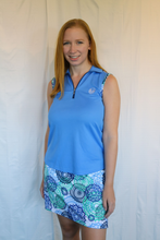 Load image into Gallery viewer, Bermuda Sands Lake Blue Sleeveless Shirt