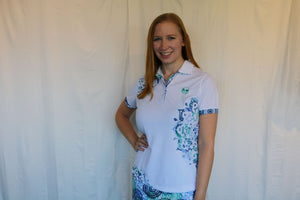 Bermuda Sands White Medallion Shirt