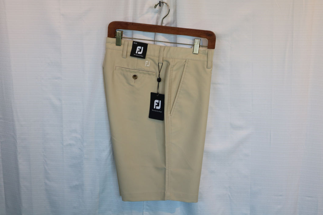 FootJoy Washed Twill Sand Men's Short