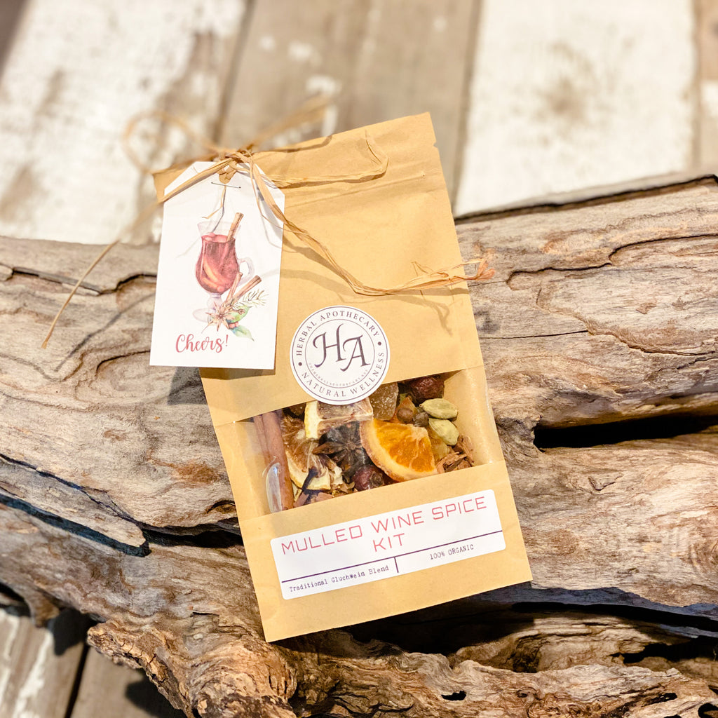 Organic Mulled Wine Spice Kit