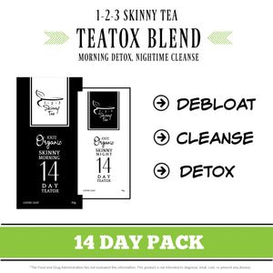 14 Day Organic Teatox Program + FREE Infuser + FREE Detox Calendar + FREE 15 Day Om Tea