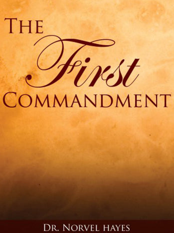 THE FIRST COMMANDMENT - (Video Download)