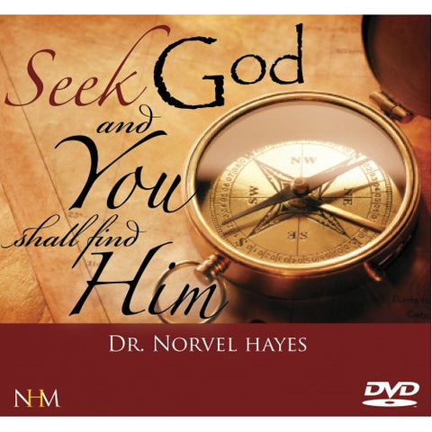Seek God and you shall find Him