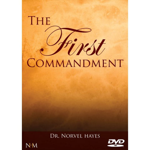 The First Commandment - (DVD)