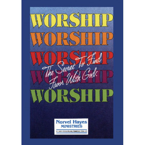 Worship: The Secret To Find Favor With God (DVD)