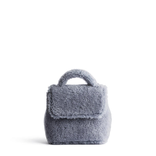 Micro Convertible Bag - Shearling