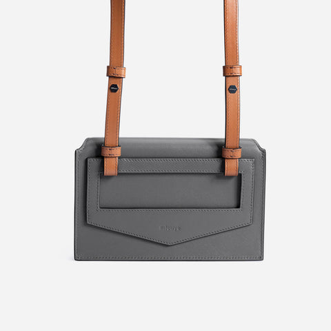 Naomi Belt Bag - Black&Gray