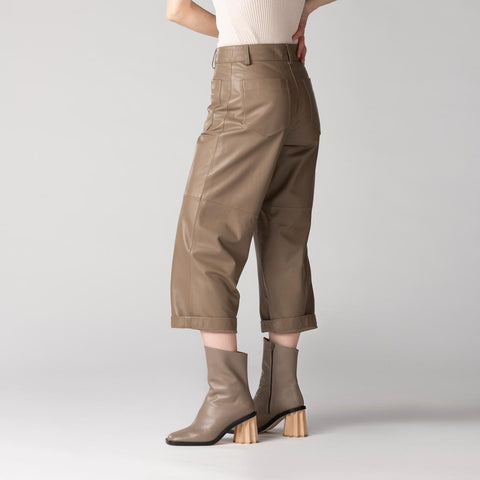 Gen Crop Pants - Earth