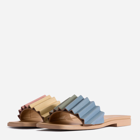 Louise Slide Sandal - Gummy