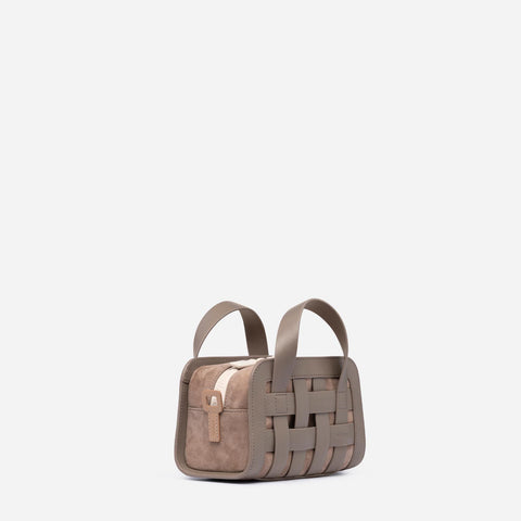 Mini Woven Bag - Earth