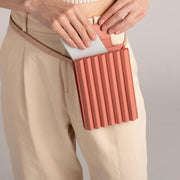 Pleated Tool Bag - Cashmere Rose