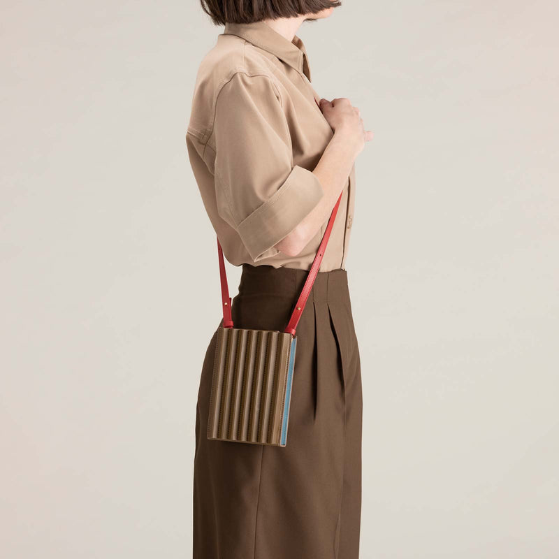 Pleated Tool Bag - Khaki