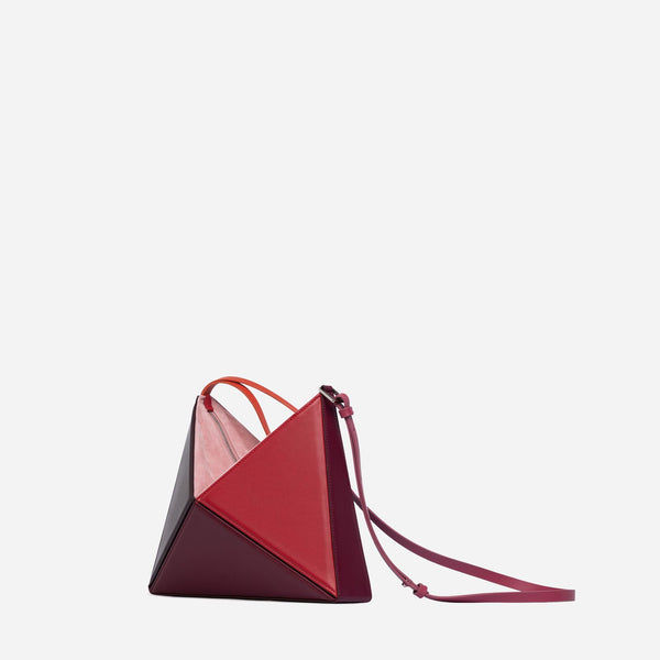Small Convertible Flex Bag - Cranberry
