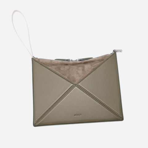 Small Convertible Flex Bag - Olive