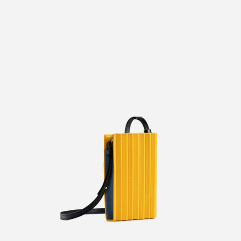 Pleated Tool Bag - Yellow