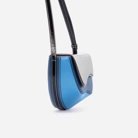 Wave Saddle - Black&Blue