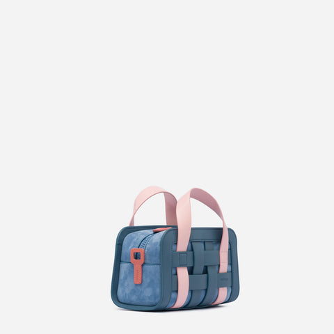Mini Woven Bag - Fairy Blue