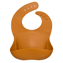 Load image into Gallery viewer, Silicone Scoop Bibs- Various  colours Silicone Scoob Bib, bib, Bibs, bibs and dummies, new silicone-scoop-bibs-various-coloursTwo Little Seedlings