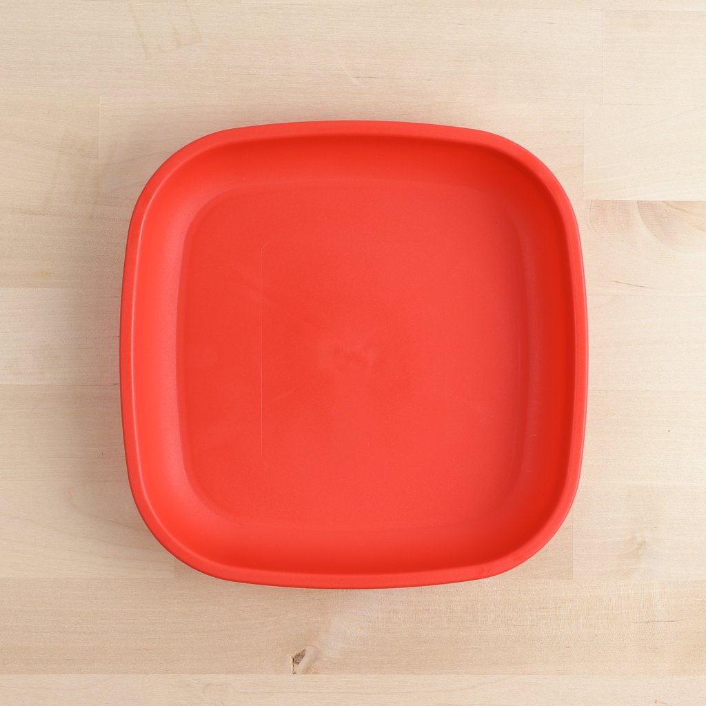 Re-Play Large Flat Plate - Red Plates, bowls, Meal time, new, plates, replay, silicone bowls re-play-large-flat-plate-redTwo Little Seedlings