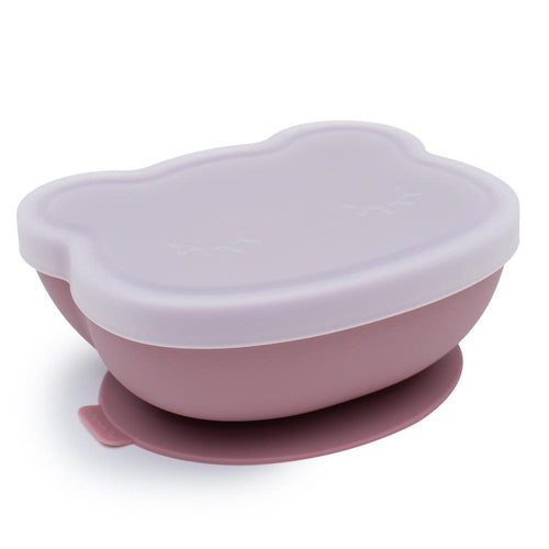 STICKIE™ BOWL - DUSTY ROSE Suction Bowl, Meal time, new, silicone plate, suction bowl stickie™-bowl-dusty-roseTwo Little Seedlings